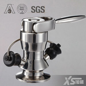 Stainless Steel Aseptic Sanitary Ss304 Ss316L Sample Cock Valve pictures & photos