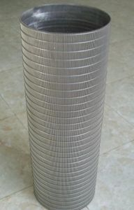 Stainless Steel Sieve Tube/Filter Tube