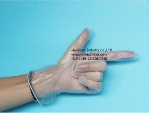High Quatity Soft Touch Non-Latex PVC Vinyl Gloves pictures & photos