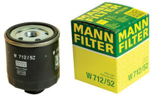 Mann Oil Filter W712/52 pictures & photos