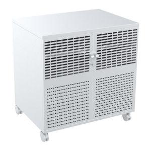 a / V Mobile Cart Lockable 3 Shelves Power Rail (MB 004A) pictures & photos