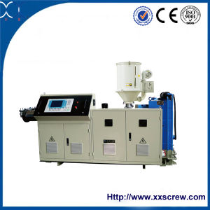 Plastic Conical Twin Screw Extruder pictures & photos