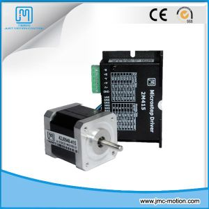 Printer Parts Size 42mm 0.9 Degree 1.5A 3.4kg. Cm 2 Phase NEMA 17 Stepper Motor and Drive pictures & photos