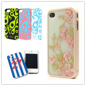 China Wholesale Logo Printed Customized Cell/Mobile Phone Cover/Case for iPhone pictures & photos