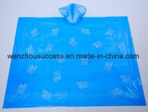 PVC PE Waterproof Rain Poncho pictures & photos