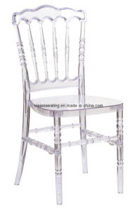 Plastic Church Dining Wedding Banquet Outdoor Napoleon Chair (5204) pictures & photos