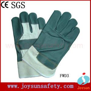 Furniture Leather Gloves Industrial Safety Rigger Gloves (FSD3)
