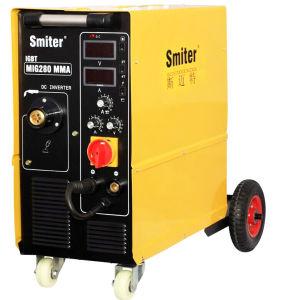 MIG250 IGBT 220/380V Dual Voltage Exchange Automatic Exchange Inverter MIG Welding Machine