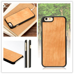 ODM Model Mobile Cover Cherry Wood Phone Case for iPhone6/6s pictures & photos