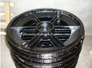 Sii Standard Ductile Iron Cement Filled Manhole Cover pictures & photos