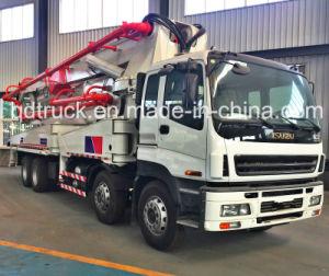 48/52M ISUZU truck-mounted concrete pump, Concrete Pump Truck pictures & photos