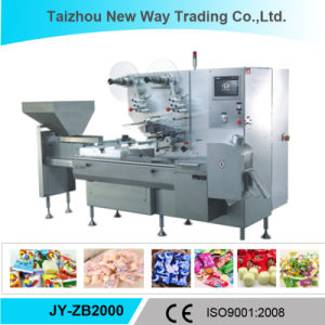 Automatic Flow Wrap Machine with Ce Certificate (JY-ZB2000) pictures & photos