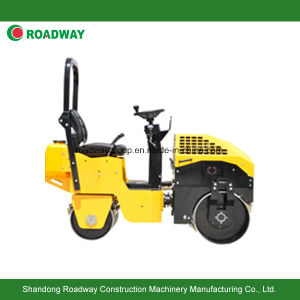 Ride on Double Drums Road Roller Roadway pictures & photos