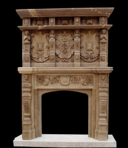 Marble Tall Fireplace (FRP464) pictures & photos