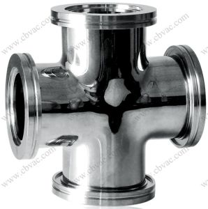 4 Way Cross Connector for Vacuum Valves pictures & photos