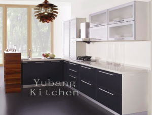 High Gloss/Matt Finished Lacquer Kitchen Cabinet (M-L47) pictures & photos