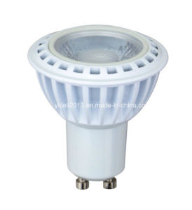New CE RoHS GU10 COB LED 5W LED Bulb Lamp Spot Light with 60degree Lens pictures & photos