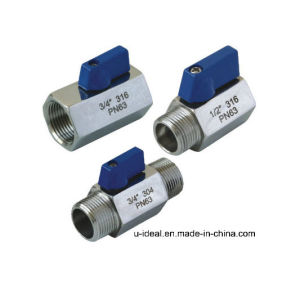 Q48h Three Way Type Ball Valve pictures & photos