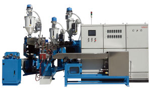 Power Wire Single Screw Extruder pictures & photos