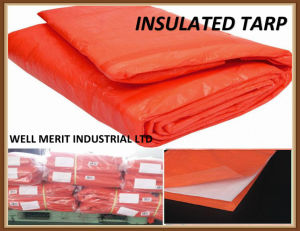 Waterproof Insulated Tarp/Tarpaulin with Foam pictures & photos