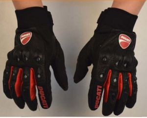 Protective Case Glove Racing Glove Motorcycle Glove Leather Glove pictures & photos