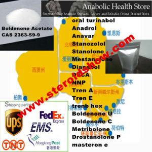 99% Purity Steroid Powder Boldenone Acetate/Boldenone 17-Acetate CAS 2363-59-9