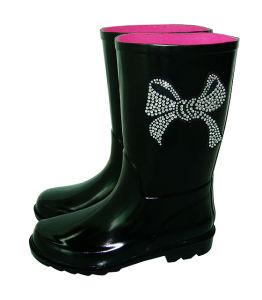 Children′s Rhinestone Rain Boots pictures & photos