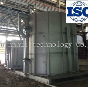 All Fiber 800 Kw Bell Type Single Cover Furnace pictures & photos