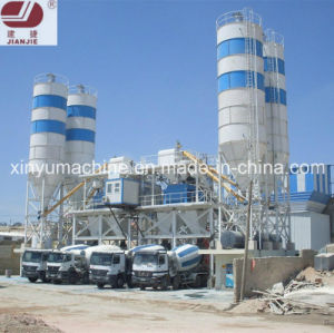 Ready Mixed Concrete Mixing Plant with BV/SGS Certification (HZS100) pictures & photos