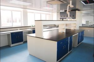 Chemical Resistance Heat -Resistance Laboratory Furniture Lab Bench pictures & photos