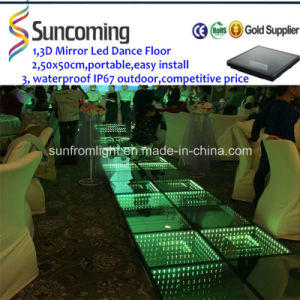 Patent Design Newest Arrival 3D Mirror Time Tunnel Disco Dance Floor pictures & photos