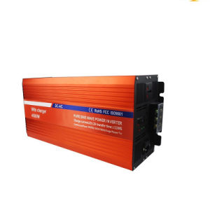 High Frequency 50Hz 24V 220V 4000W Inverters with Charger pictures & photos