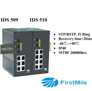 IDS 509/510 Entry Level Series Gigabit Managed Industrial Ethernet Switches pictures & photos