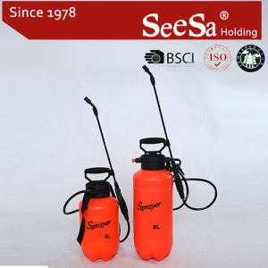 8L Plastic Garden Hand Compression Manual Backpack Sprayer (SX-CS8G 8L) pictures & photos