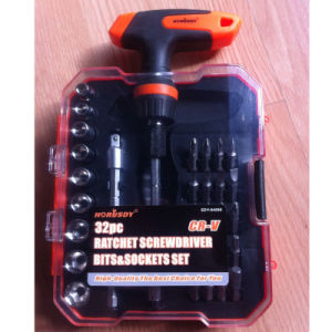 32in1 Ratchet Screwdriver Set pictures & photos