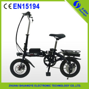 Competitive Price 14 Inch Folding Electric Bicycle (Shuangye A2-F14) pictures & photos
