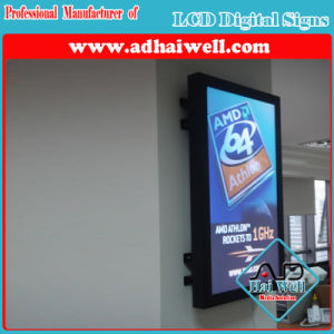 Wall Mounted LCD Digital Screen Sumsung LCD Advertising Player pictures & photos