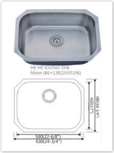 Stainless Steel Sink, Undermount Kitchen Sink6348A pictures & photos