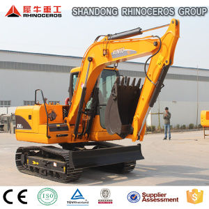 Hot Popular 9 Ton Hydraulic Crawler Excavator with 0.3m3 Bucket pictures & photos