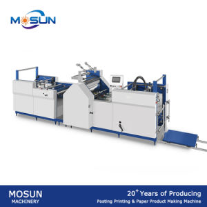 Msfy-650b Semi Auto Paper Sheet Laminating Machinery pictures & photos