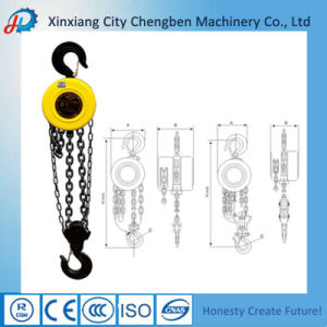 Hsz Manual Chain Pulley Hoist 10 Ton Chain Blocks pictures & photos