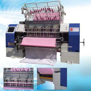 Yuxing High Speed Shuttle Machine Quilting, Garment Multi-Needle Quilter, New High-End Quilting Machine for Chushion pictures & photos