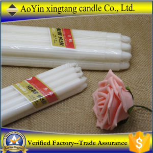 Home Decoration Unscented Wax Candle pictures & photos