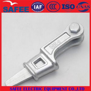 China Nx Type Wedge Type Guy Wire Clamp - China Electric Equipment, Electric Accessory pictures & photos
