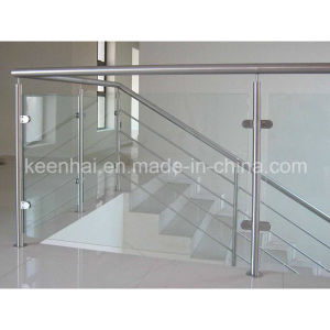 Stainless Steel Glass Stair Railing of Handrail Balustrade pictures & photos