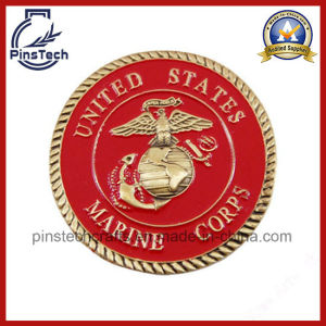 3D Military Coin with Rope Edging pictures & photos