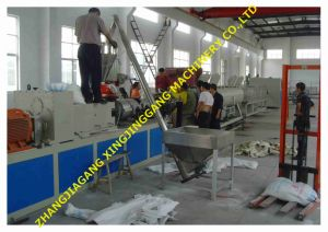 PVC Pipe Extrusion Plant pictures & photos