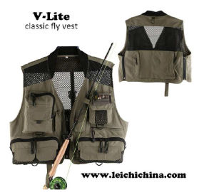 Light Breathable Classic Fly Fishing Vest pictures & photos