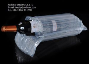 PVC Wine Bottle Bubble Bags, Leakproof PVC Wine Protector Bag pictures & photos