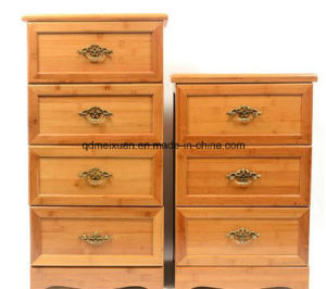 Restore Ancient Ways to Receive Ark Store Content Ark Drawer Ark of Four Layers of Bamboo Finishing of Ark (M-X3429) pictures & photos
